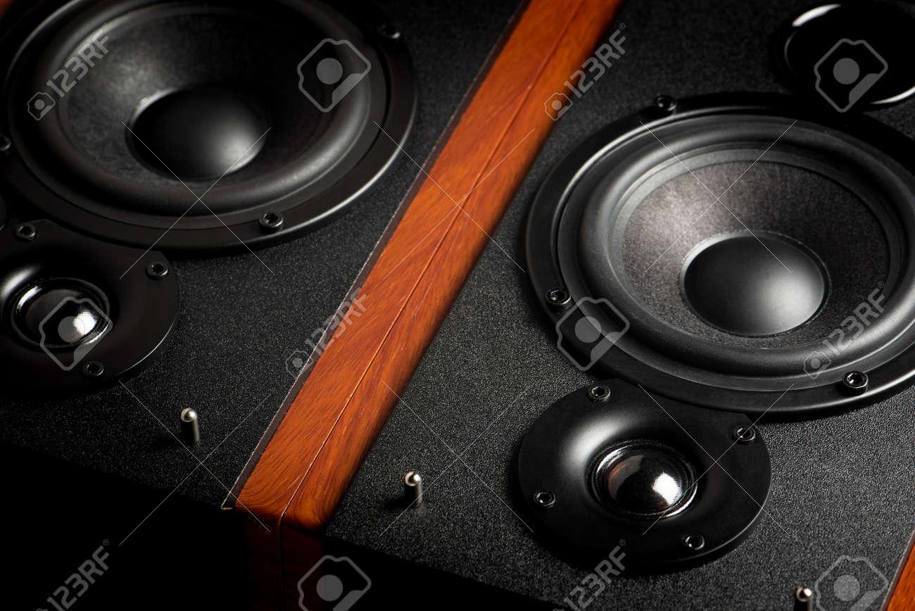 Bookshelf speaker system for home entertainment. - 167141005