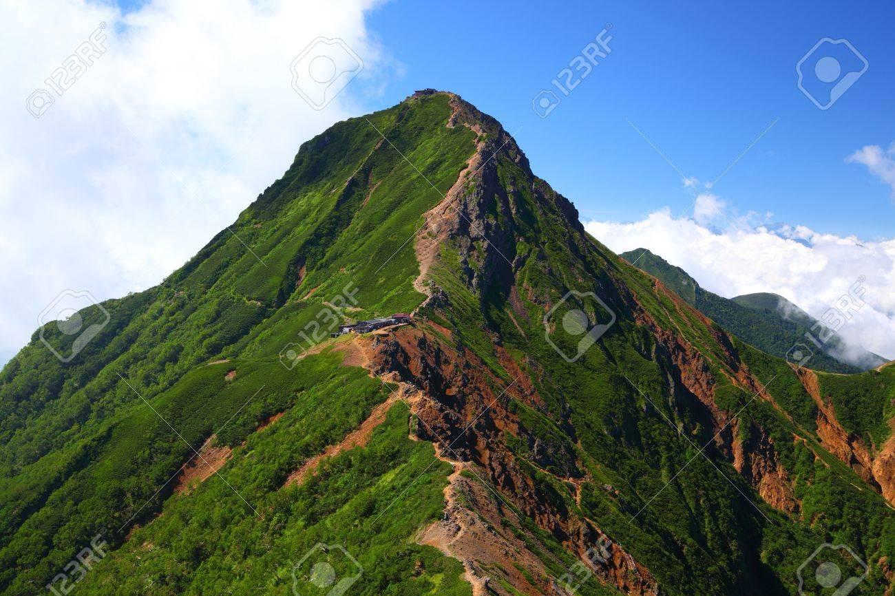 夏長野県の八ヶ岳山のビュー の写真素材画像素材 Image 15097020
