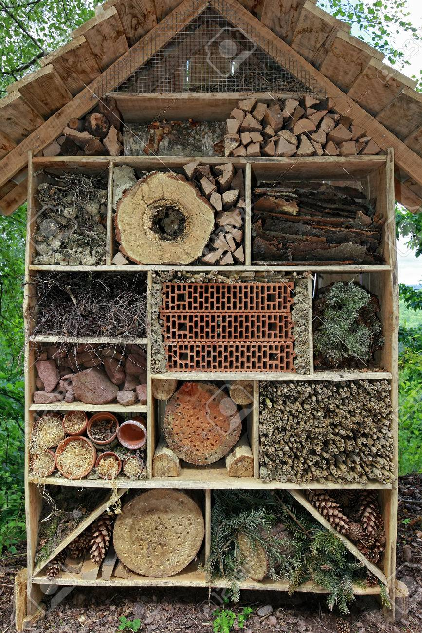 Insektenhotel Stock Photo Picture And Royalty Free Image Image