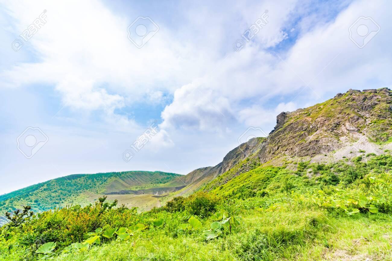 Hokkaido, Shikotsu Toya National Park, The Summit of Mt. Usu - 136598097