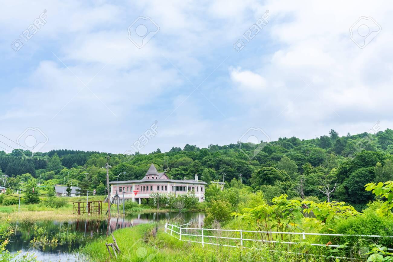 Nishiyama Crater Walking Trail in Toyako onsen - 136598887