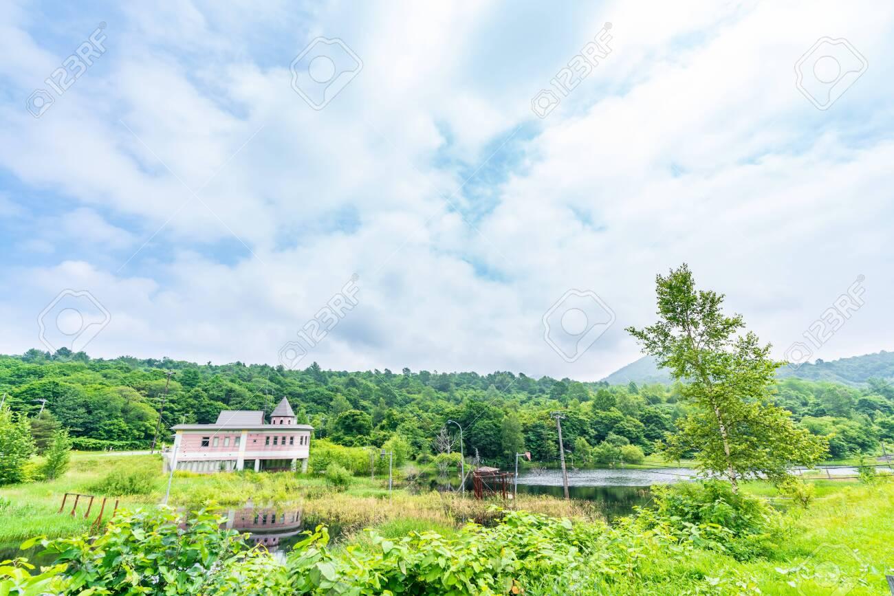 Nishiyama Crater Walking Trail in Toyako onsen - 136599113