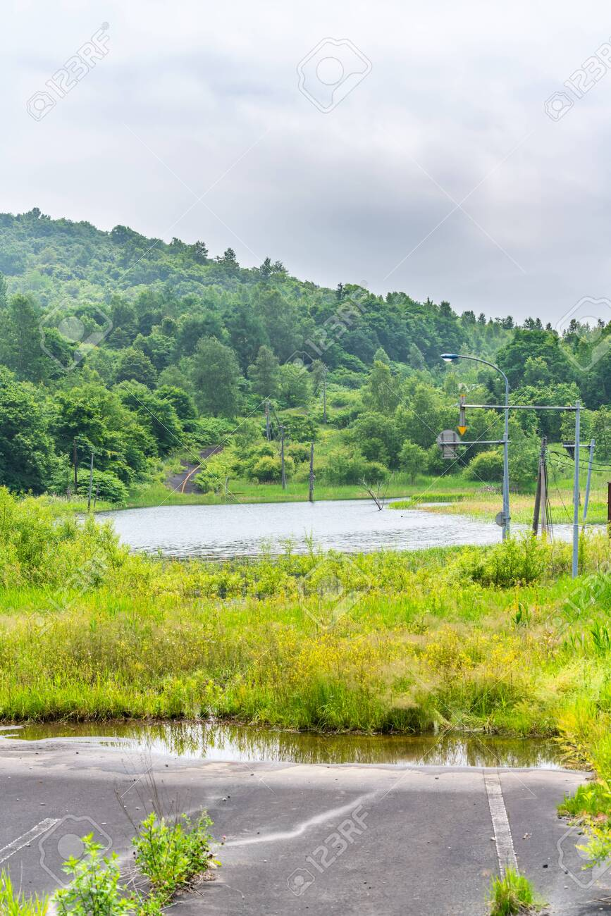 Nishiyama Crater Walking Trail in Toyako onsen - 136599464