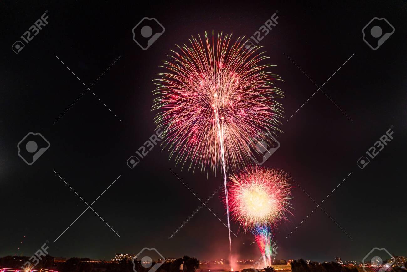Summer in Japan, Itabashi Fireworks Festival - 136548559