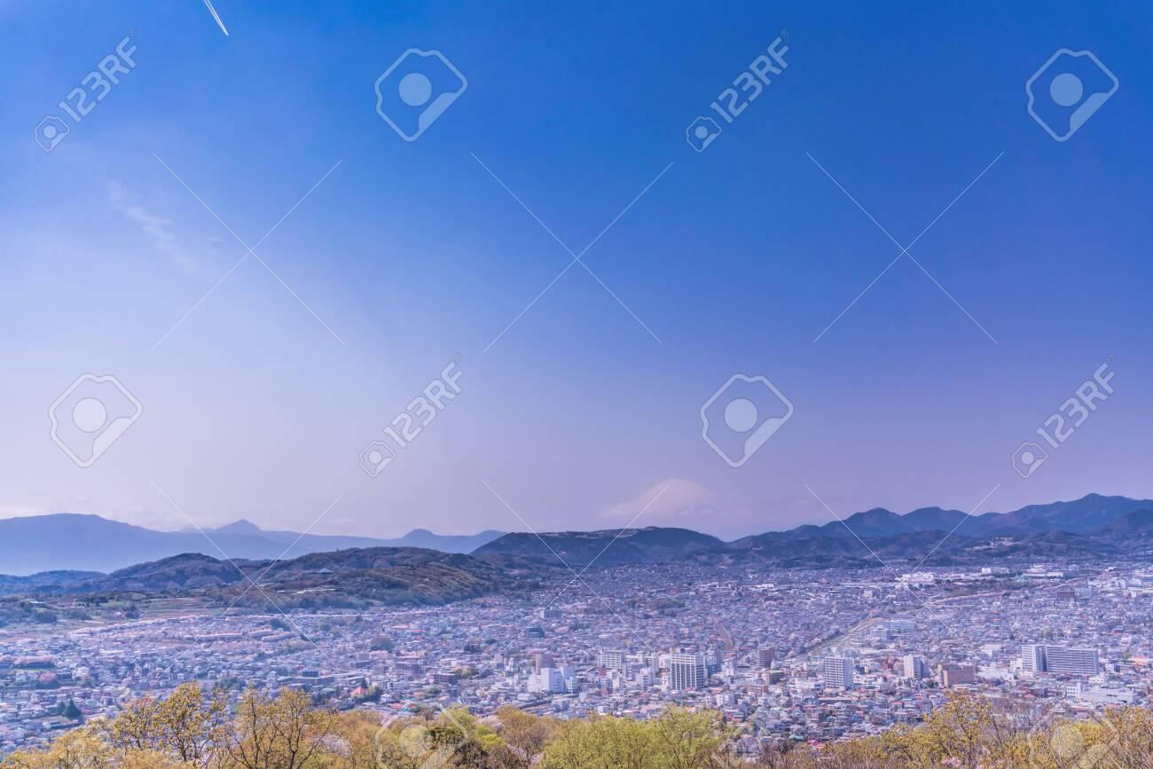 Spring in Japan, Hagino, Kanagawa. Cherry Blossoms in Koboyama Park - 136712444