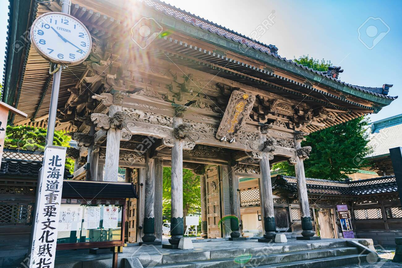 Hokkaido Summer Hakodate, Koryuji Temple - 143860495
