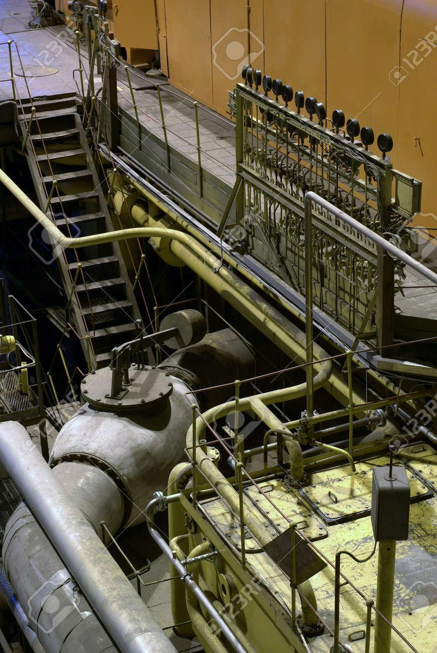 steam turbine at power house Stock Photo - 2831751