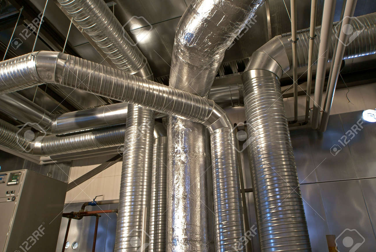 Ventilation pipes of an air condition Stock Photo - 6708919
