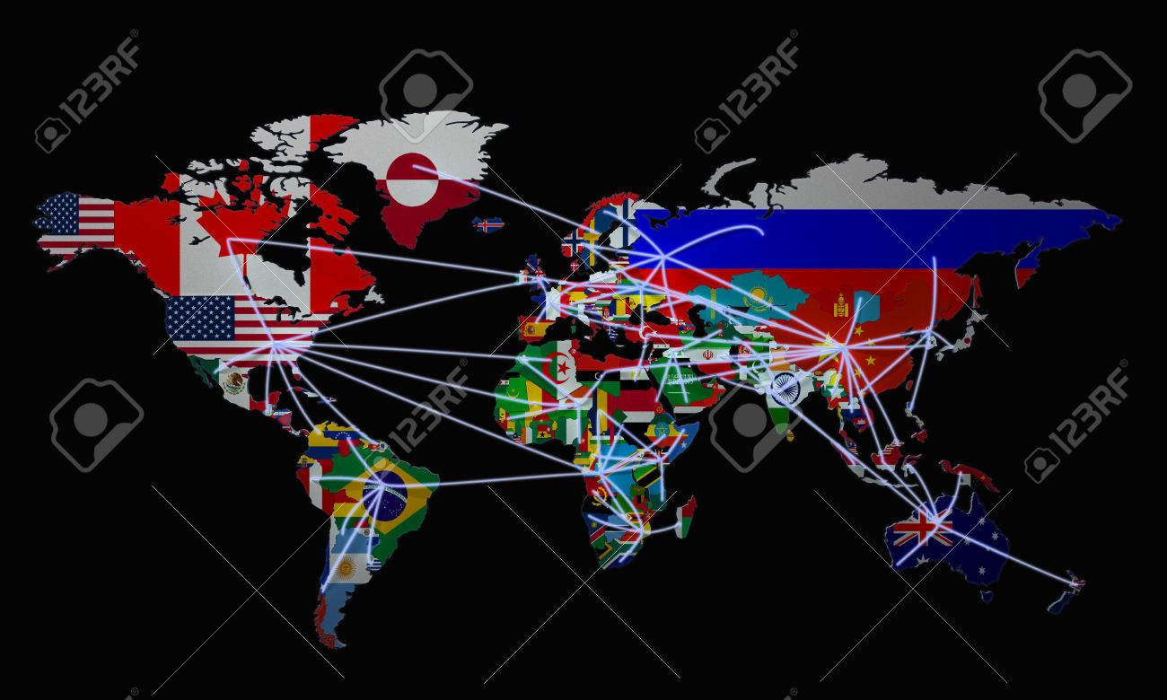 Online shopping in world map 3d illustration on black stock photo online shopping in world map 3d illustration on black stock illustration 70130398 gumiabroncs Gallery