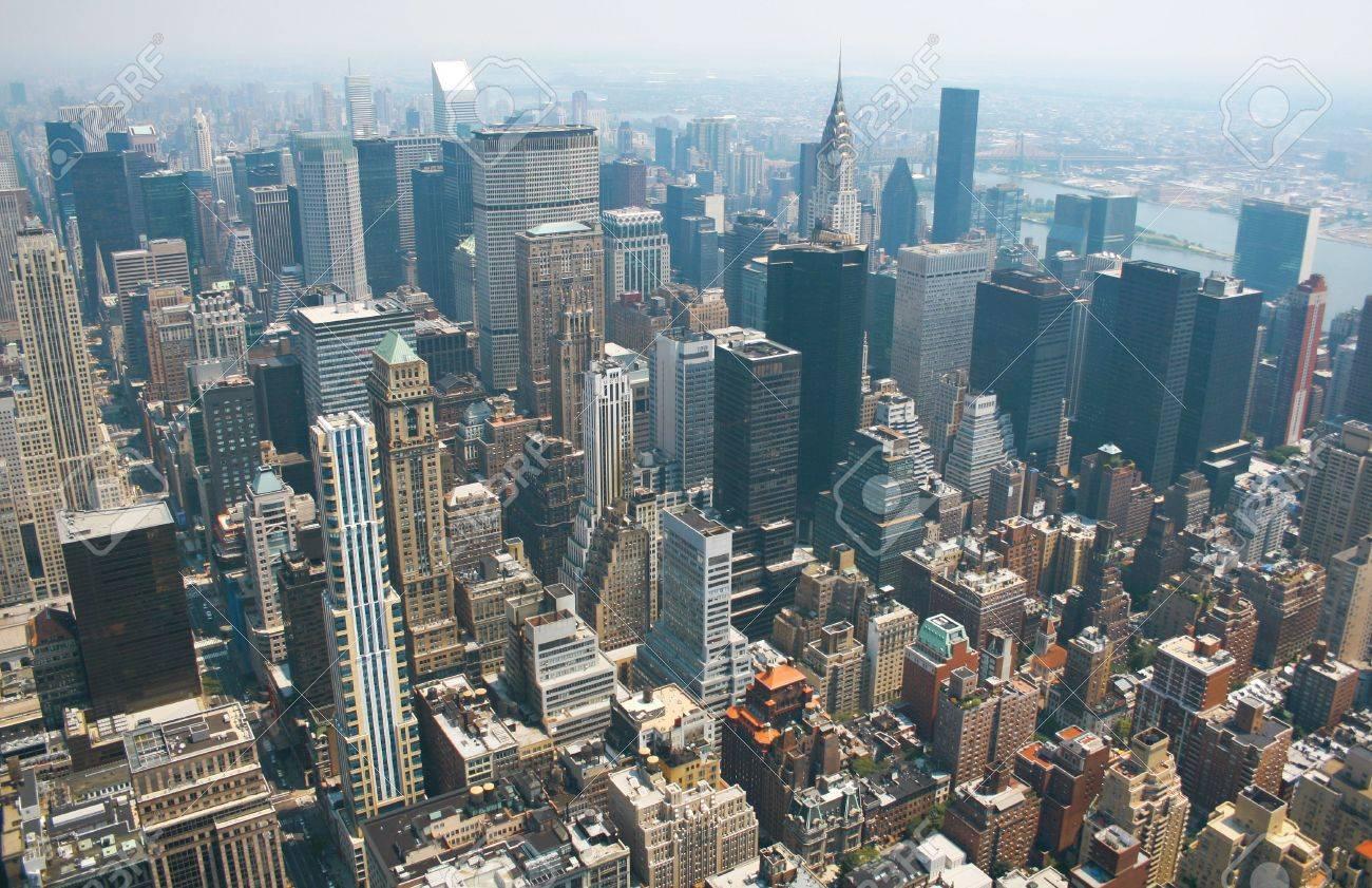 Aerial View Of Empire State Building ? 4K HD Desktop Wallpaper ...
