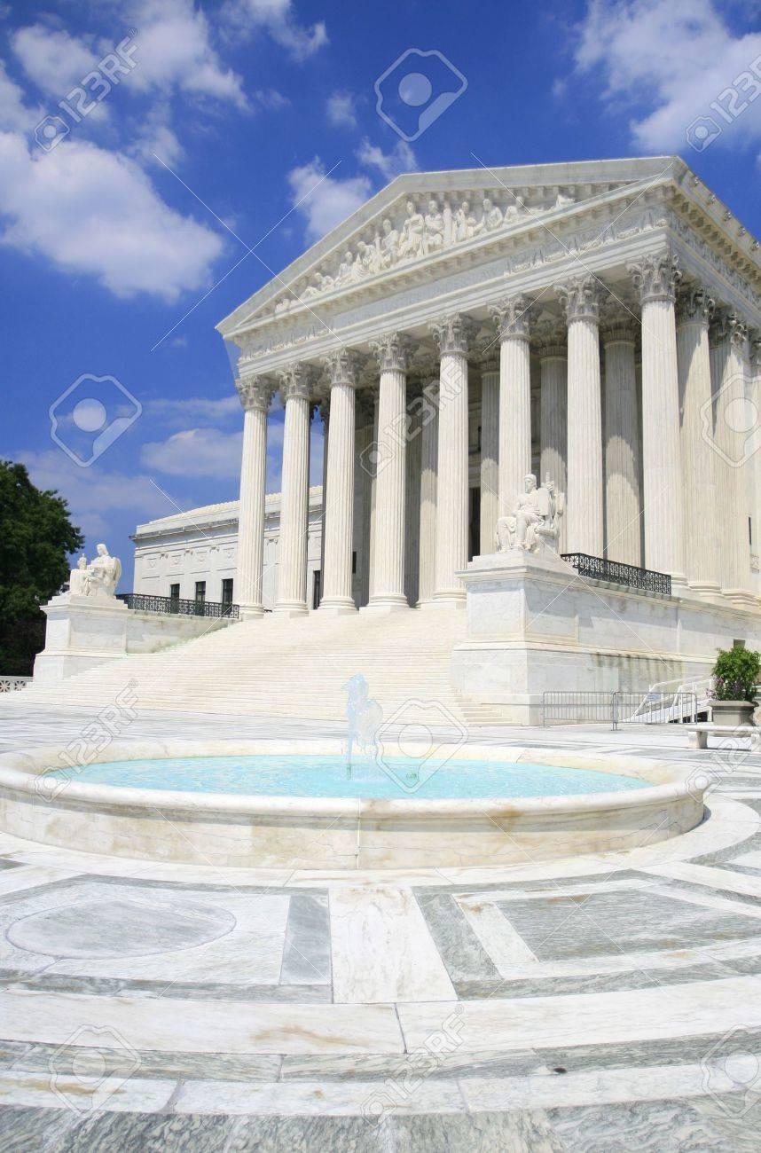 Cour Supreme Des Etats Unis A Washington Dc Versatile Image Qui