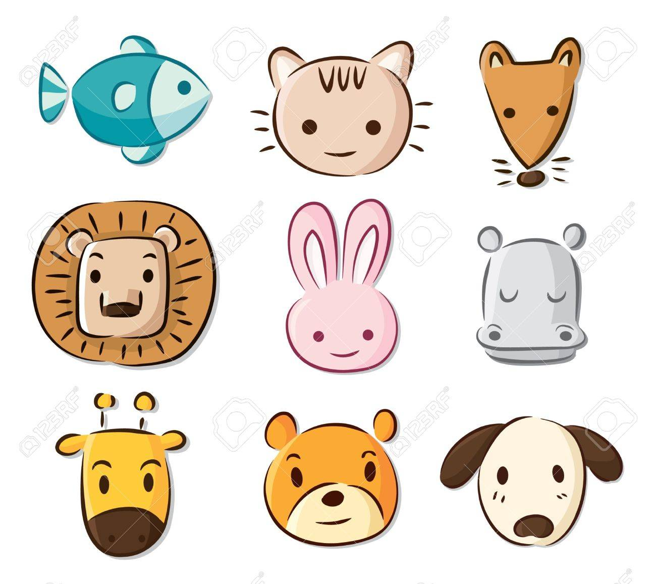 picturesof cute cartoon animals all pictures top