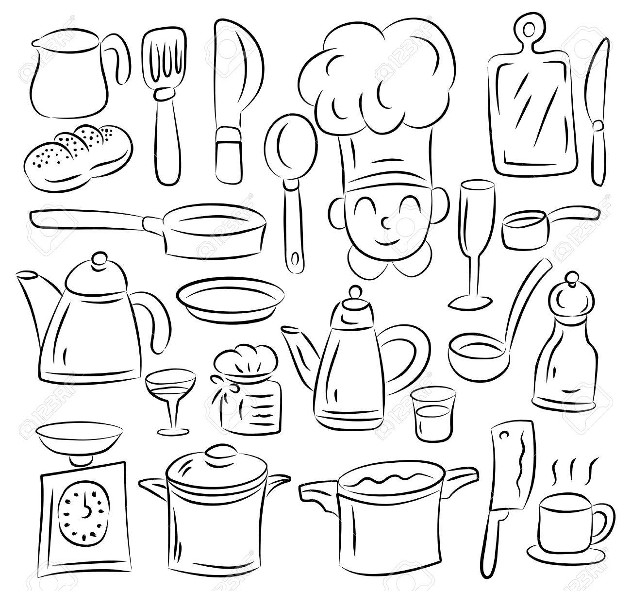 Kitchen Draw Royalty Free Cliparts Vectors And Stock Illustration