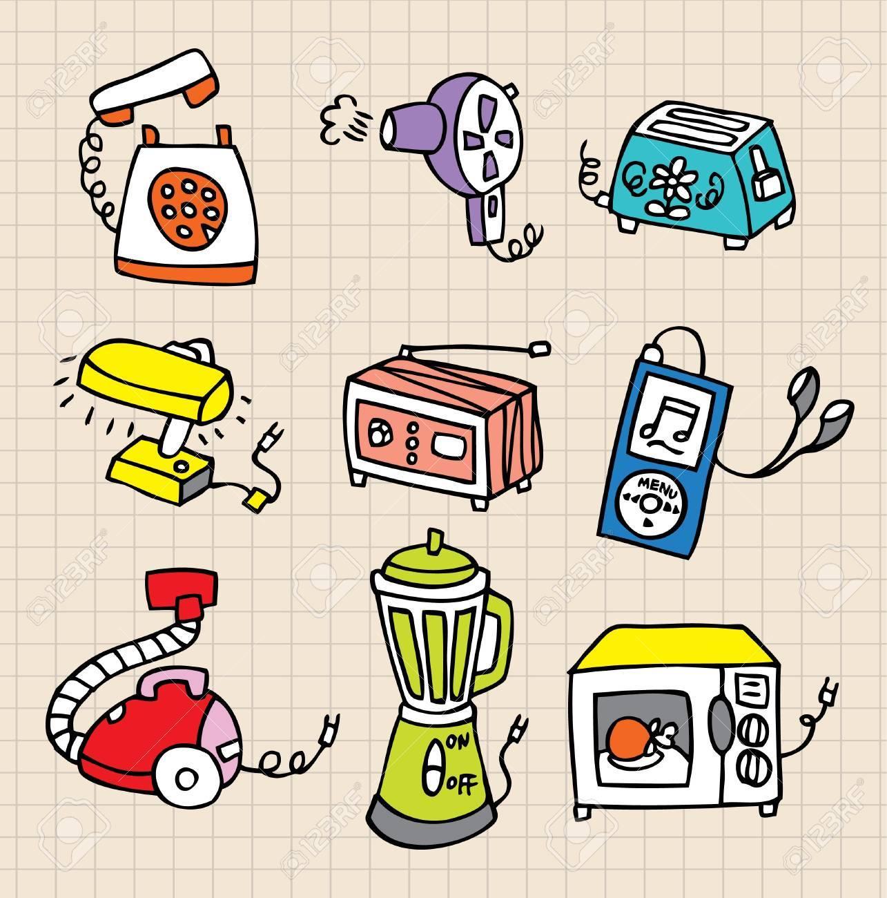 Housework element icon Stock Vector - 8493722