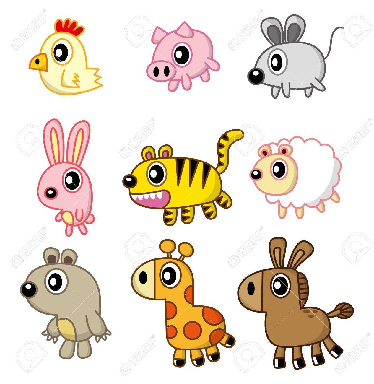 cartoon animal Stock Vector - 8502710