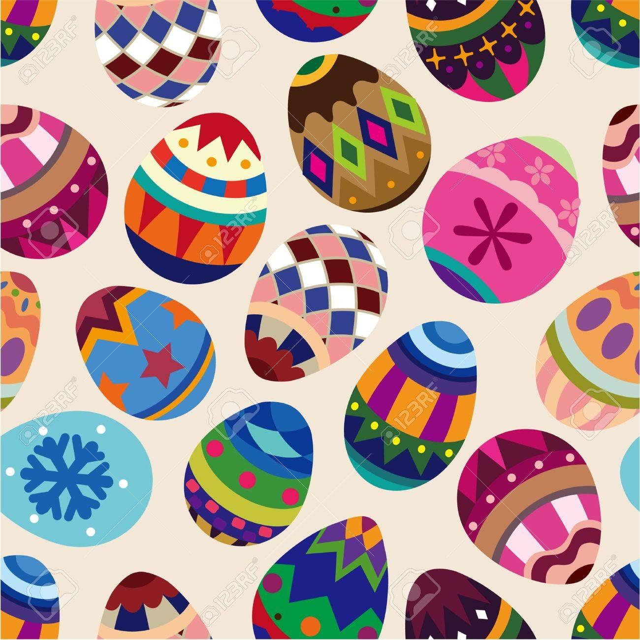 Easter Egg Pattern Background - More info