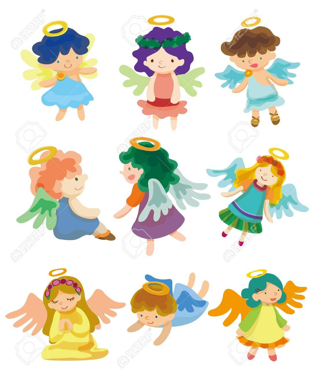 cartoon Angel Stock Vector - 8505616