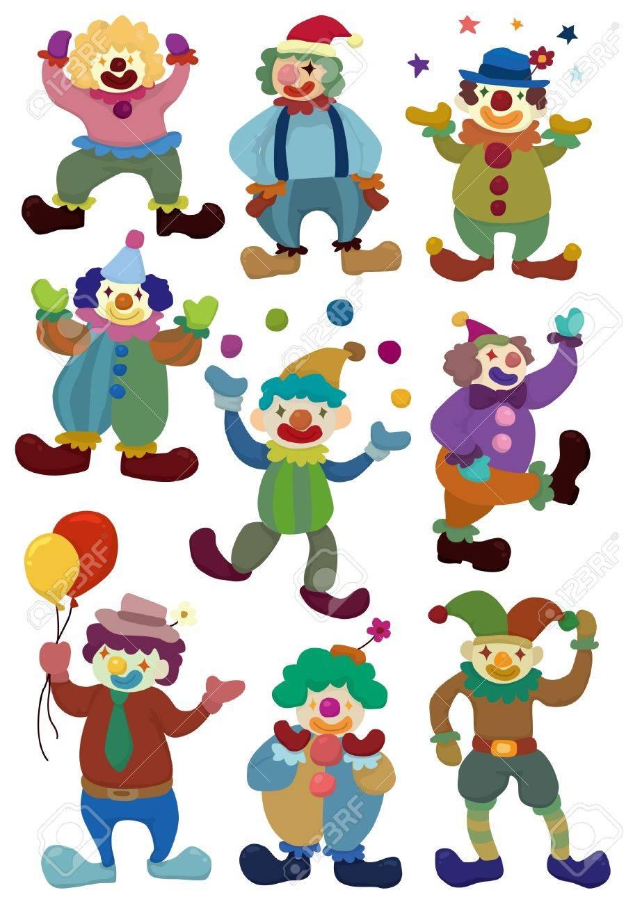 cartoon clown icon Stock Vector - 9377696