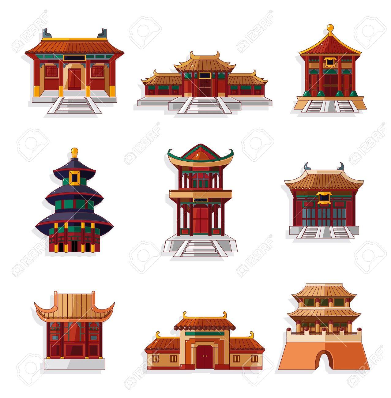 Vector - cartoon Chine...