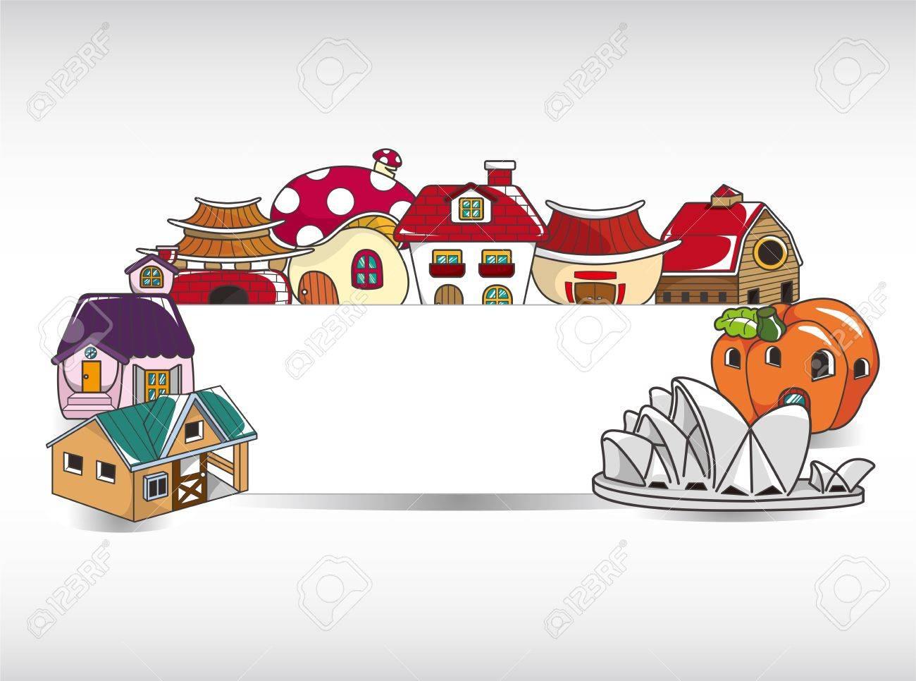 house card Stock Vector - 10963481