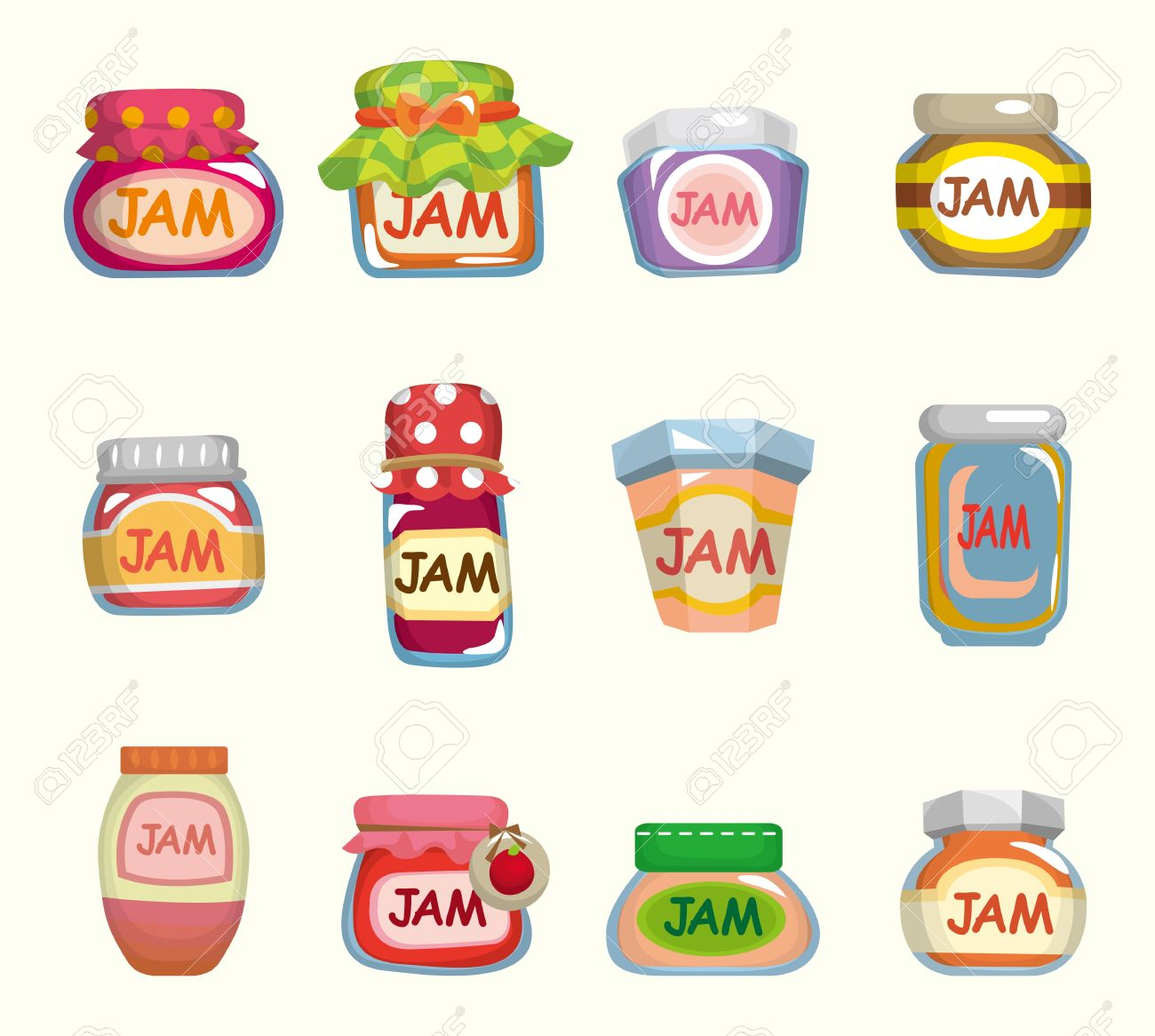 cartoon jam Stock Vector - 11224975