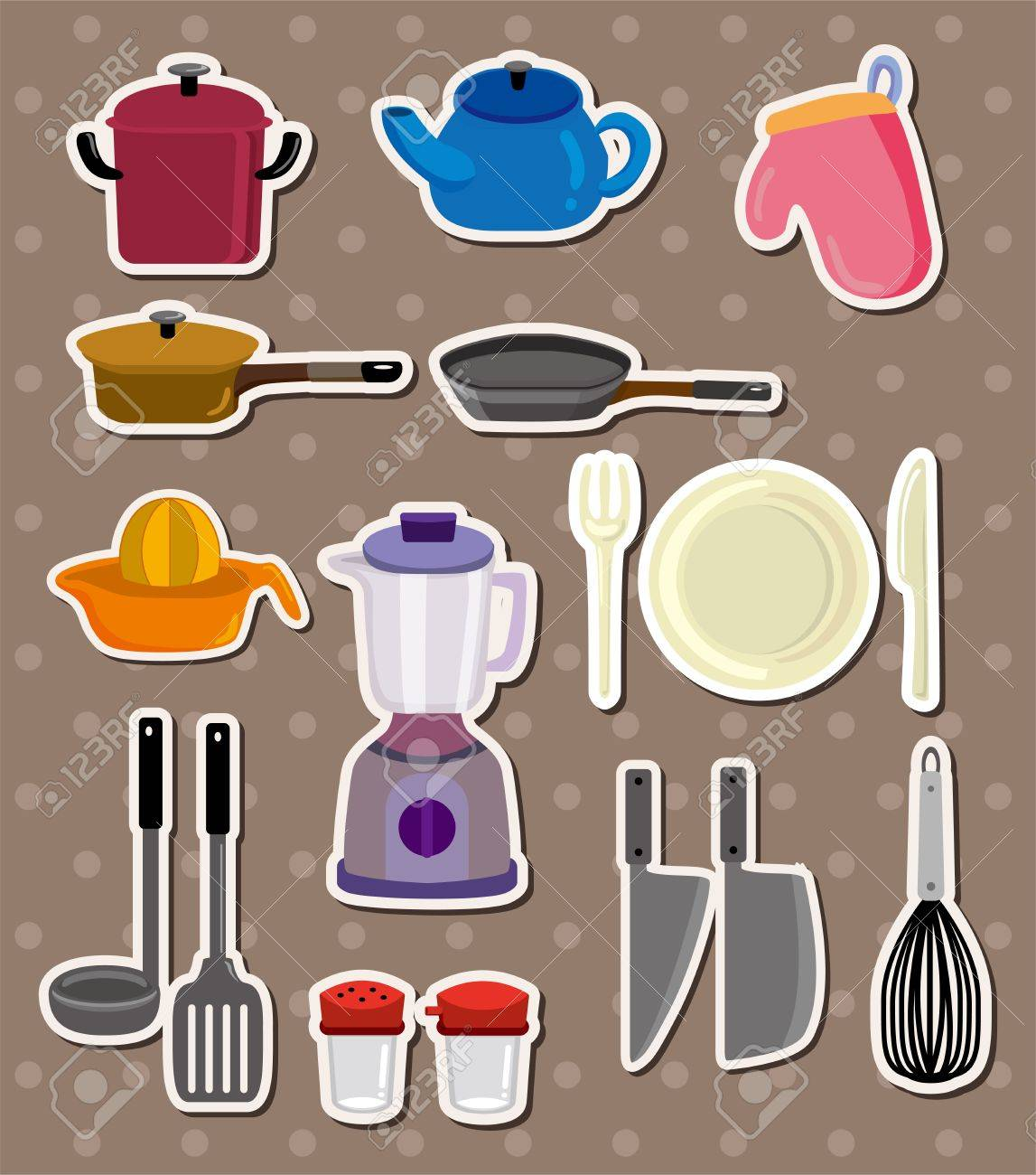 kitchen stickers Stock Vector - 13122067