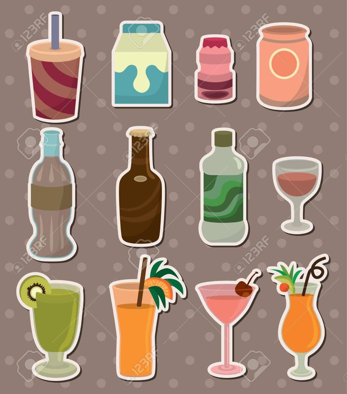 drink stickers - 13586774