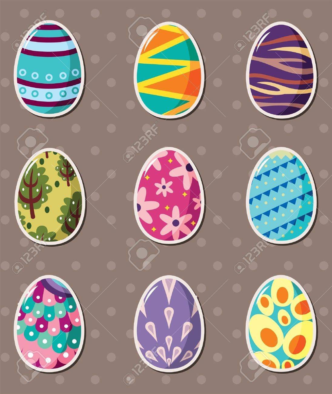 Easter Egg Stickers Photo Album - The Miracle of Easter