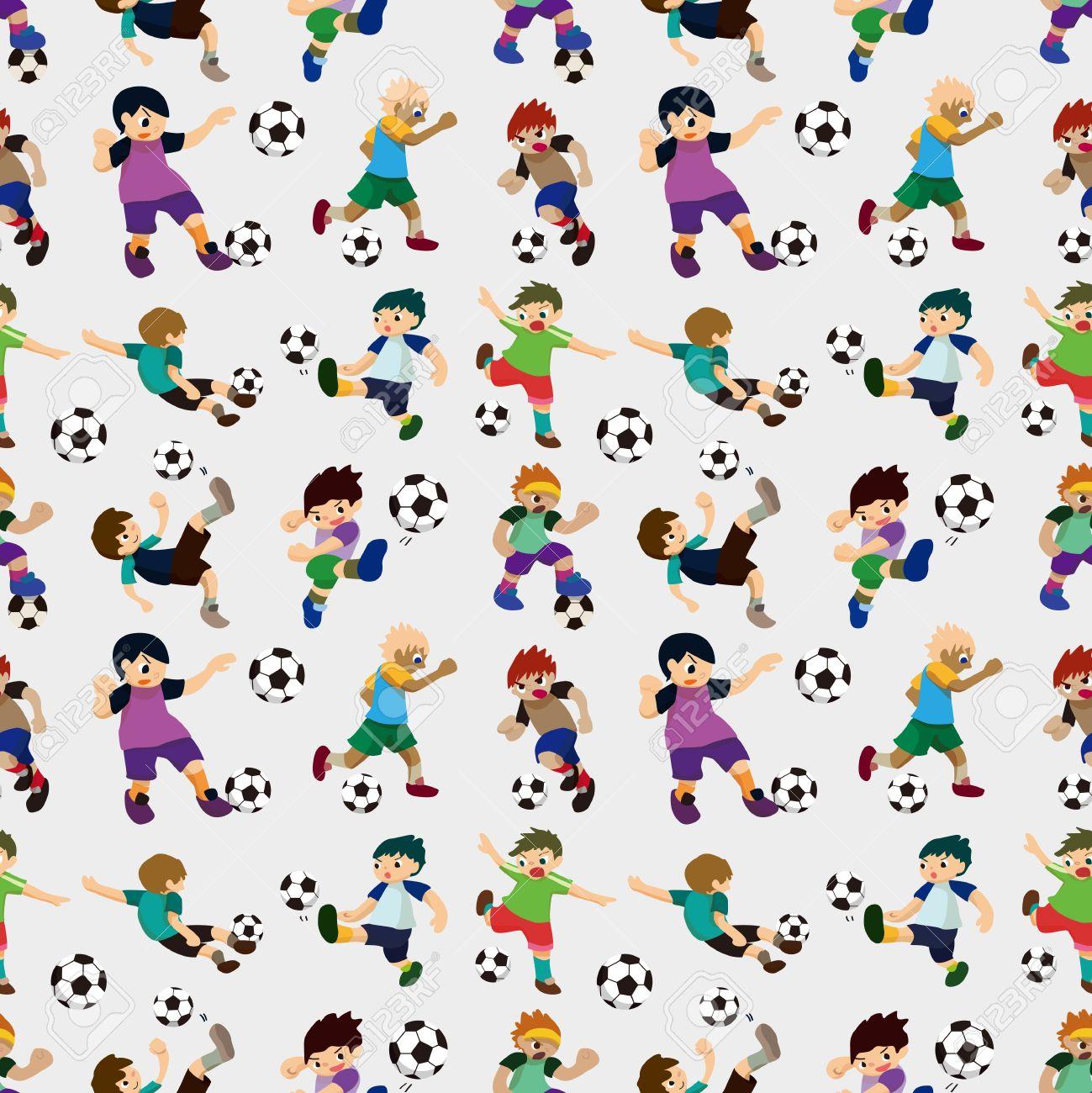 Soccer Pattern Magnificent Design Ideas