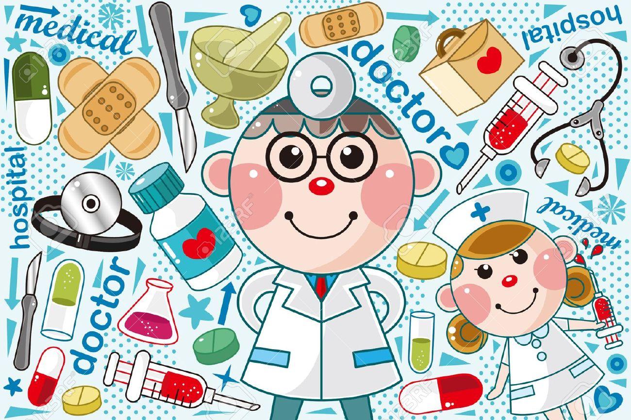 Dentist Medical Doctor Doctor Medical Pattern Doctor