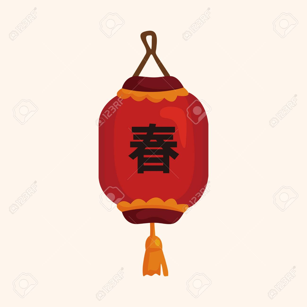 chinese new year theme elements chinese decorative lantern stock vector 37219927