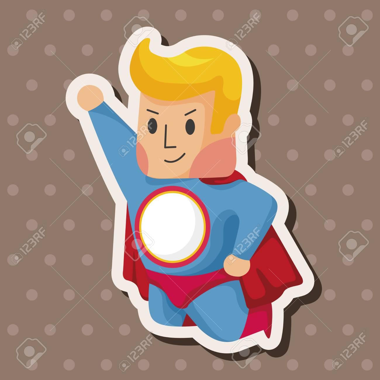 superhero theme elements - 38477574