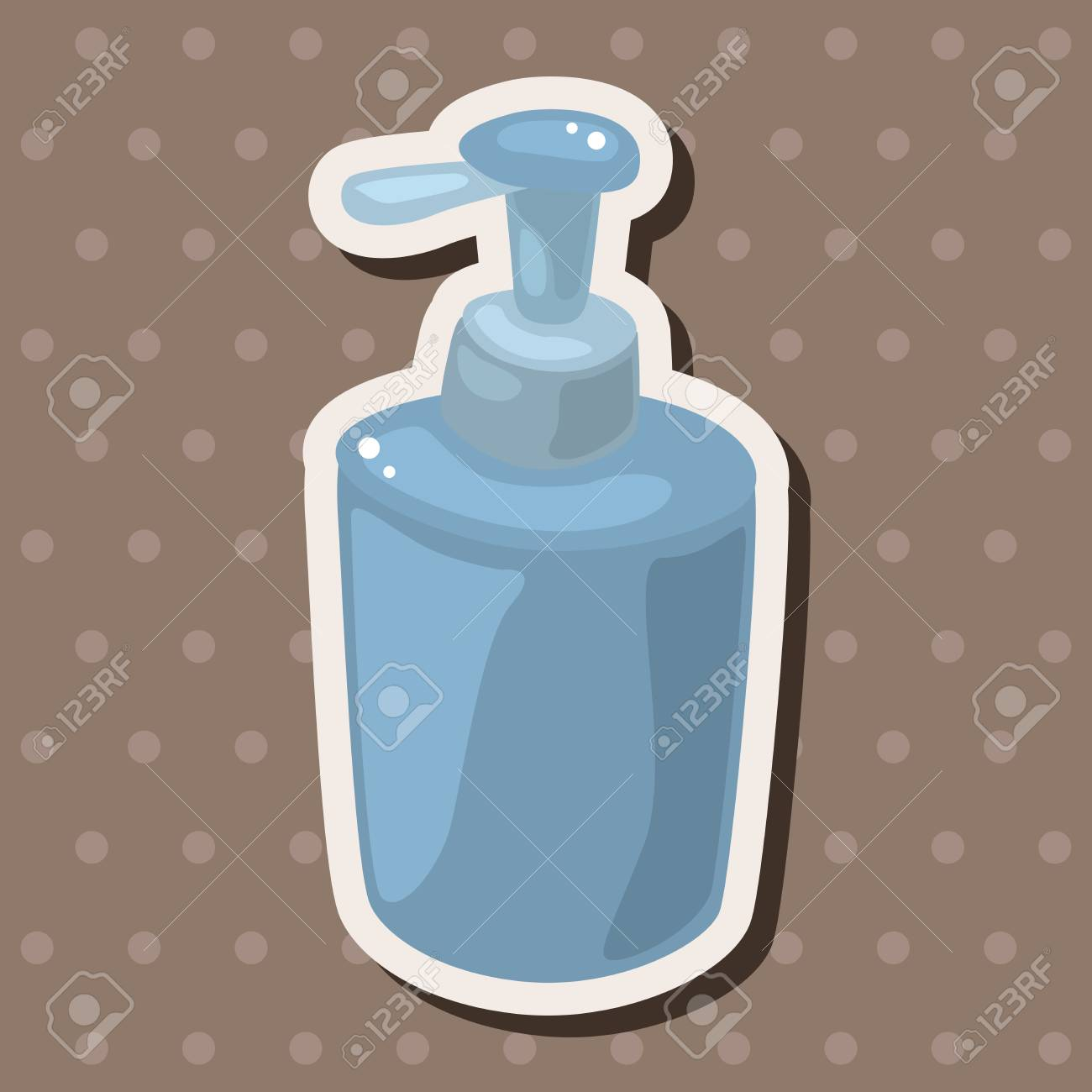 Bathroom Shampoo Theme Elements Royalty Free Cliparts, Vectors, And ...