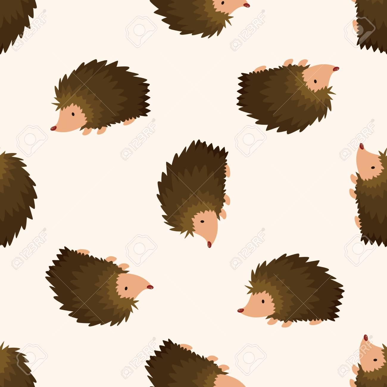 Immagini stock animale riccio fumetto cartone animato modello