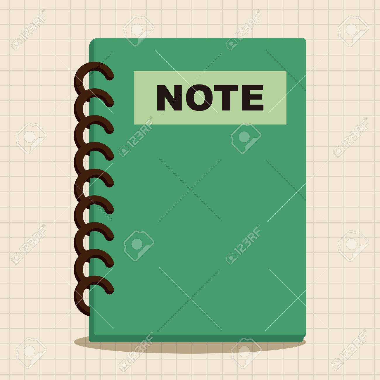 notebook theme elements royalty free cliparts vectors and stock