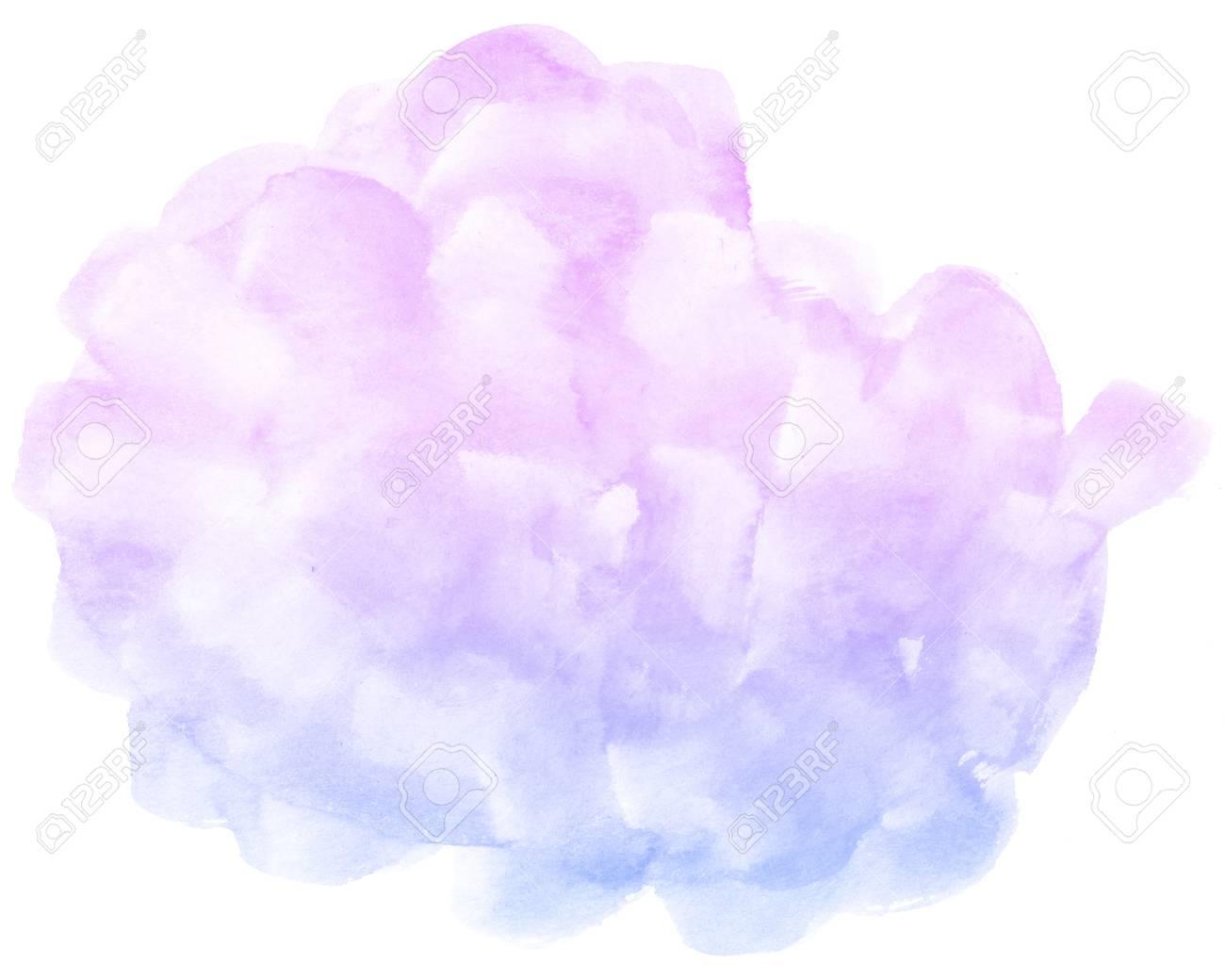 Immagini Stock Acquerello Astratto Rosa Su Sfondo Bianco E Questo