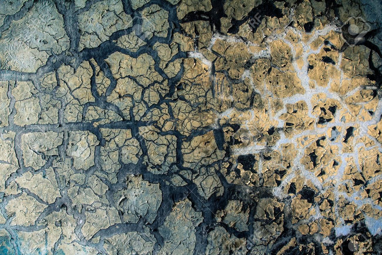 La Peinture Sur Le Mur Est Carbonise Apres L Incendie Banque D Images Et Photos Libres De Droits Image 44478654