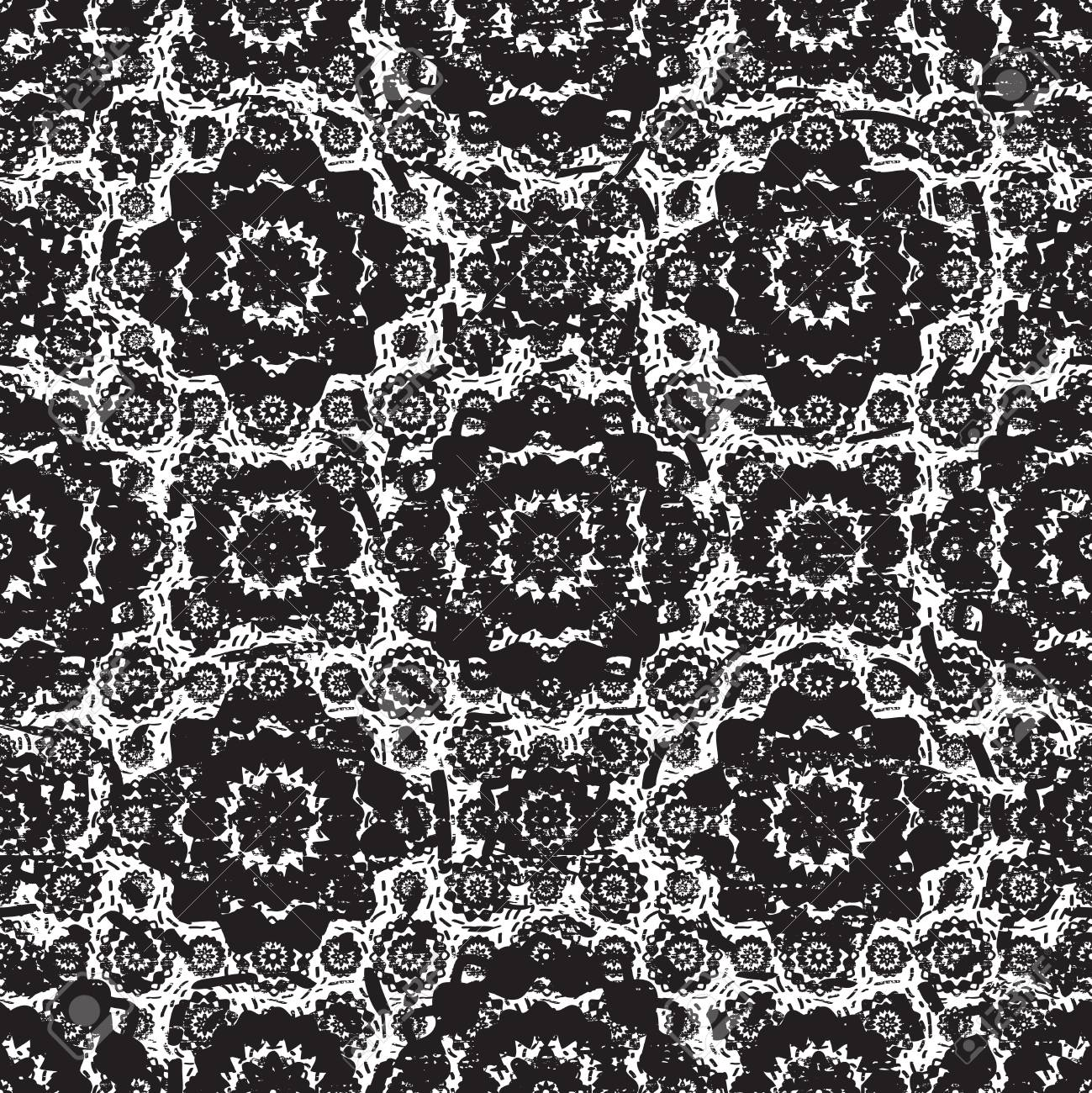 Alencon French Seamless Lace Vector Pattern, Openwork Ornament.. Royalty  Free Cliparts, Vectors, And Stock Illustration. Image 124429064.   1300x1299