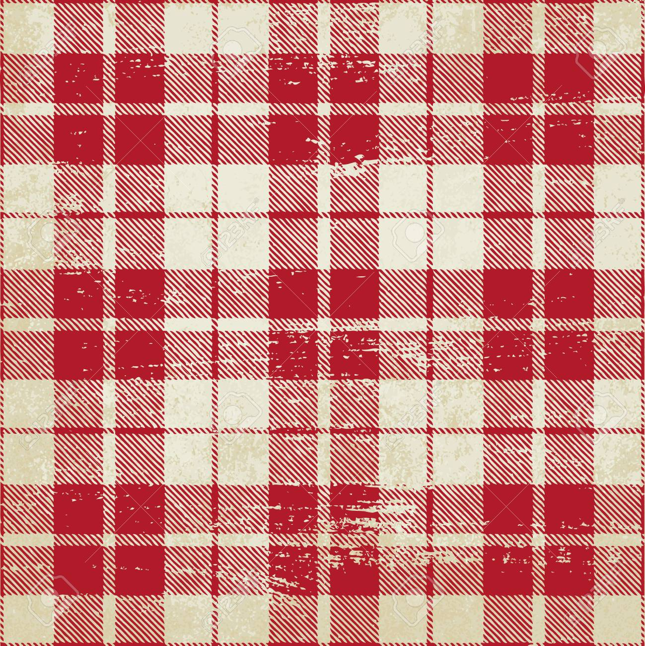 Tartan inspired vintage vector background 2 - 106377502