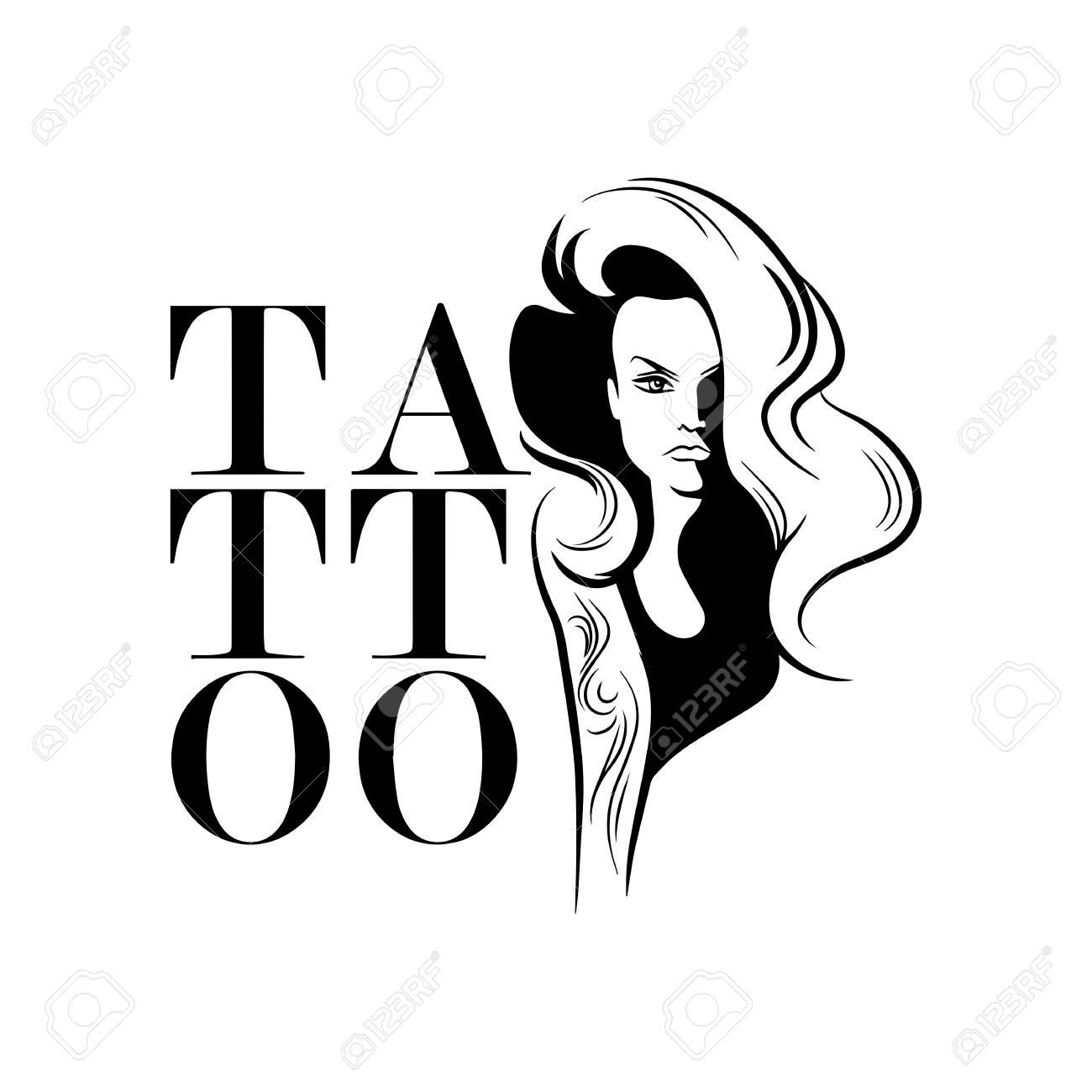 Tattoo Shop Logo Design Royalty Free Cliparts Vectors And Stock