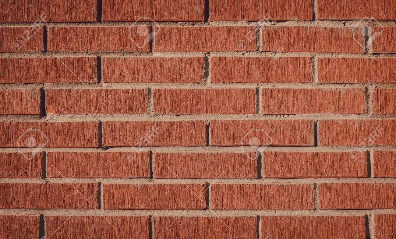 Red Brick Background Or Wallpaper Strong Brick Wall Stock Photo Picture And Royalty Free Image Image 147705612