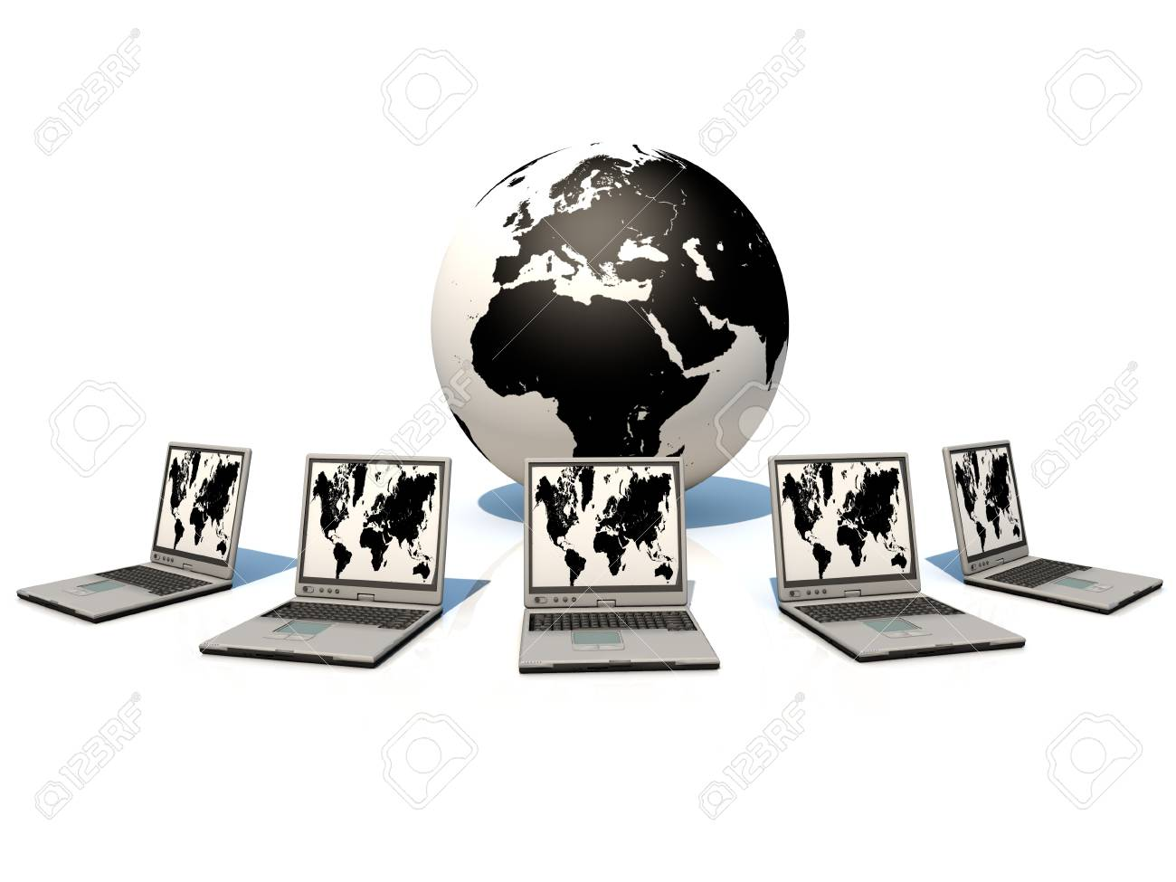 World Wide mobile communication Stock Photo - 11190558