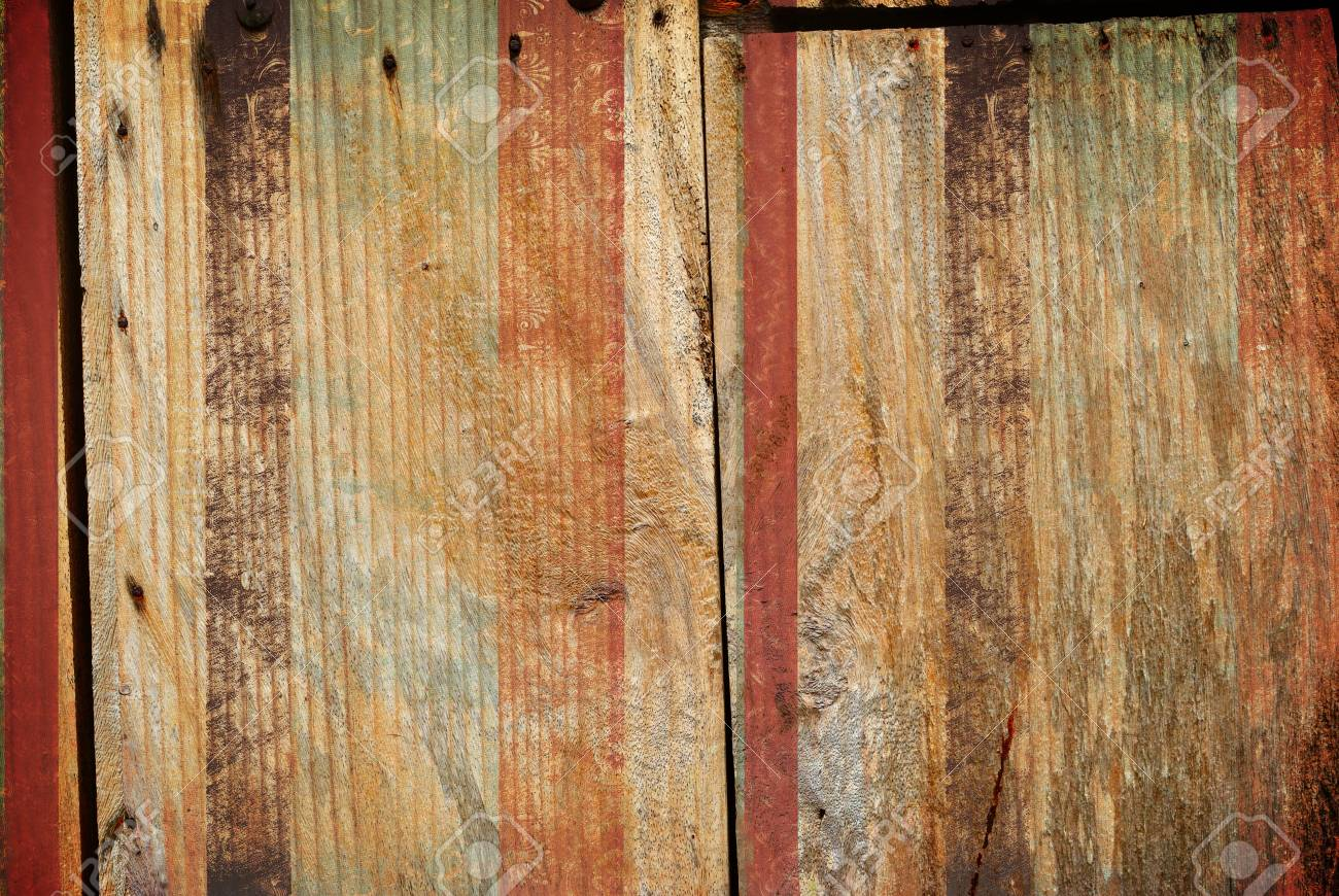 old of wood texture with copy space Stock Photo - 13269413