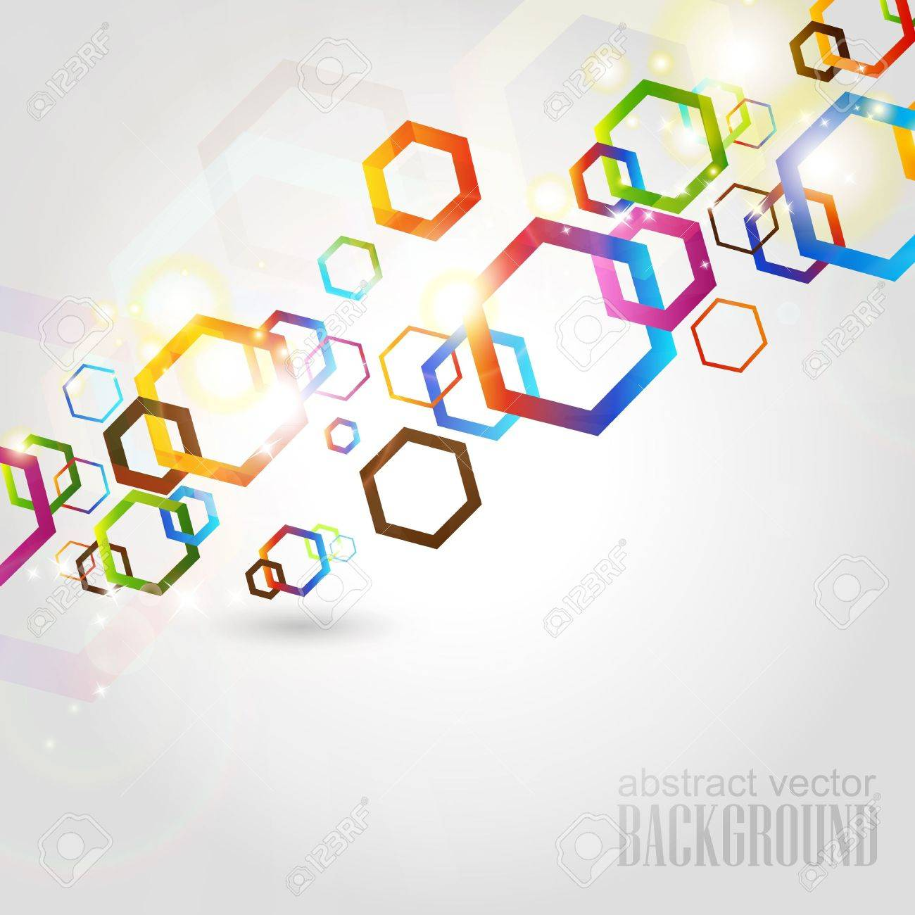 Abstract geometric Stock Vector - 17846809