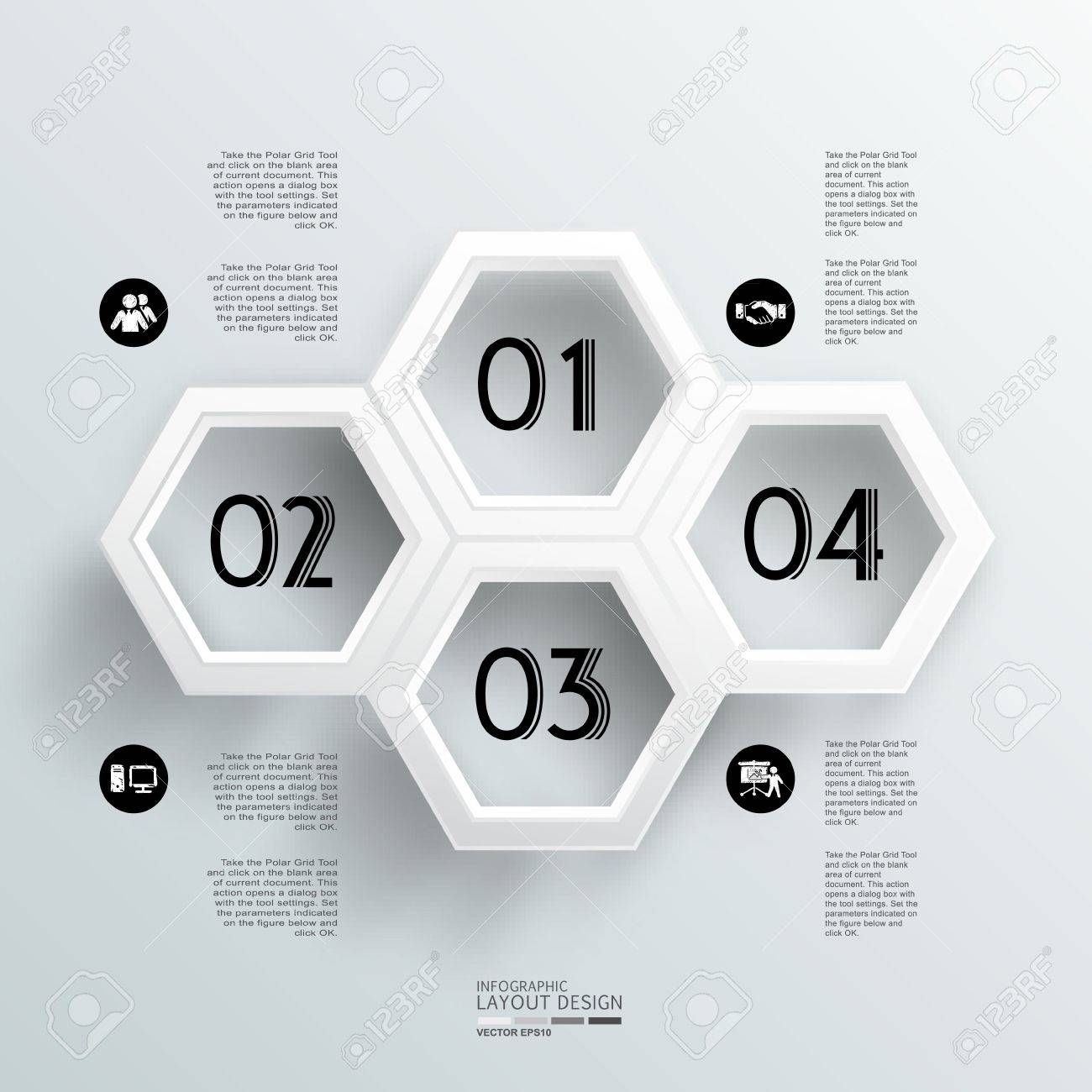 Modern business design template  Can be used for vector eps10 design, work flow layout, diagram, number options, step up options, web design, banner template, info graphic Stock Vector - 20580936