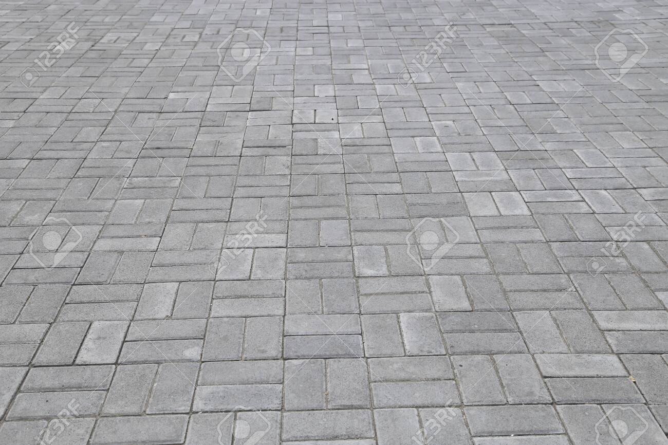 floor paving for background template - 130474845