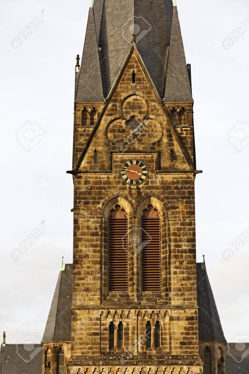 St  Peter and Paul church in Georgsmarienhuette Oesede, Osnabruecker land, Lower Saxony, Germany Stock Photo - 12579396