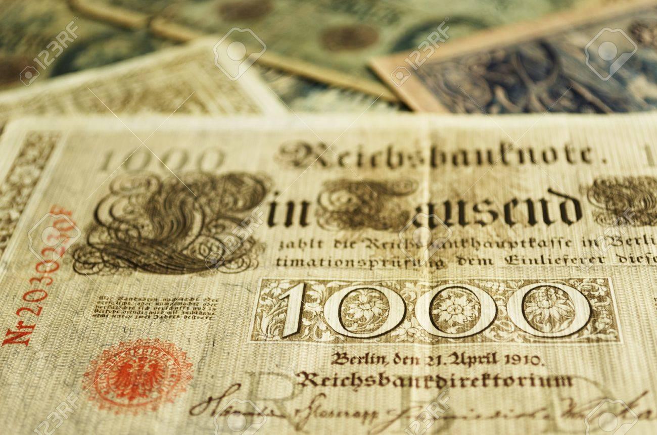 billet de banque allemand 1910