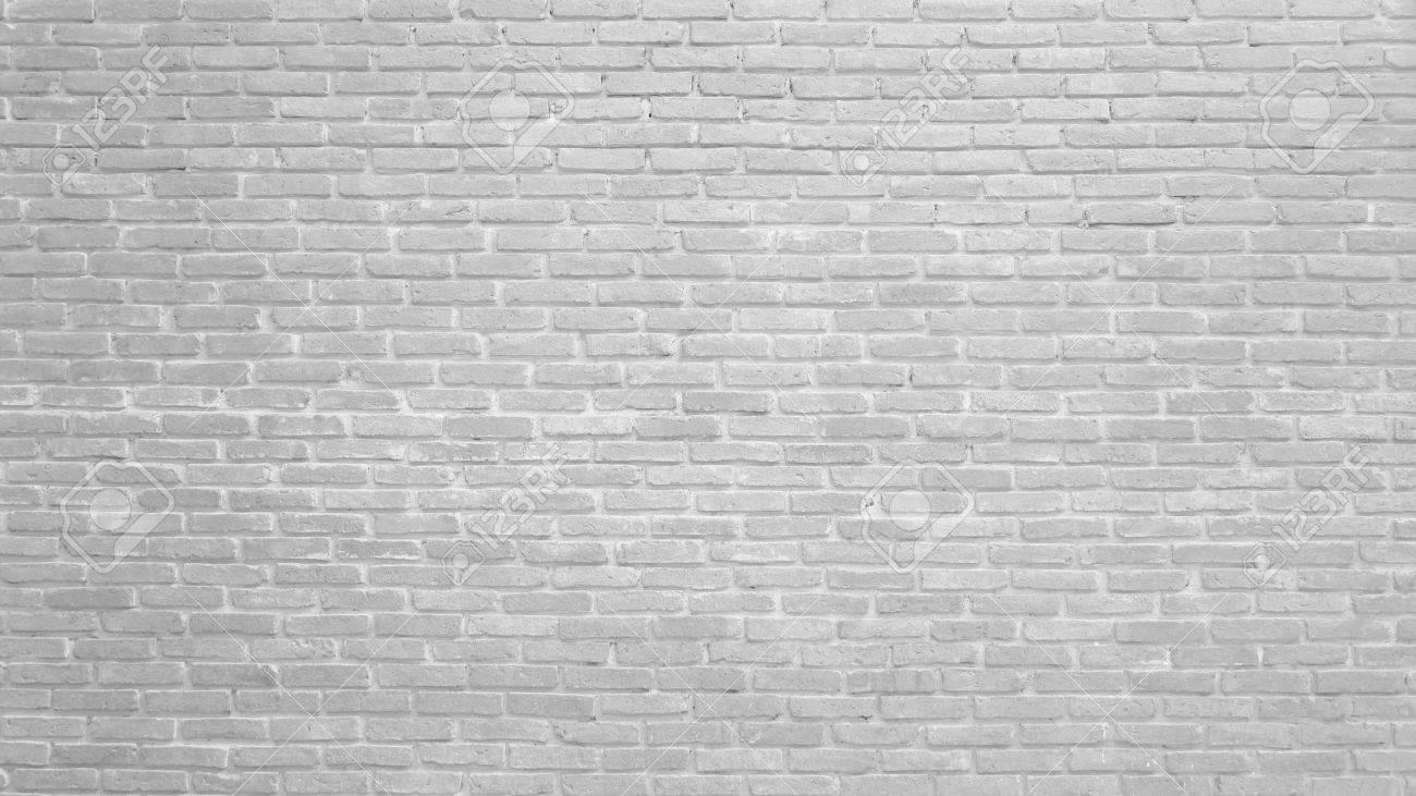 Brique Blanche contexte de la texture du motif de mur en brique blanche. idéal pour