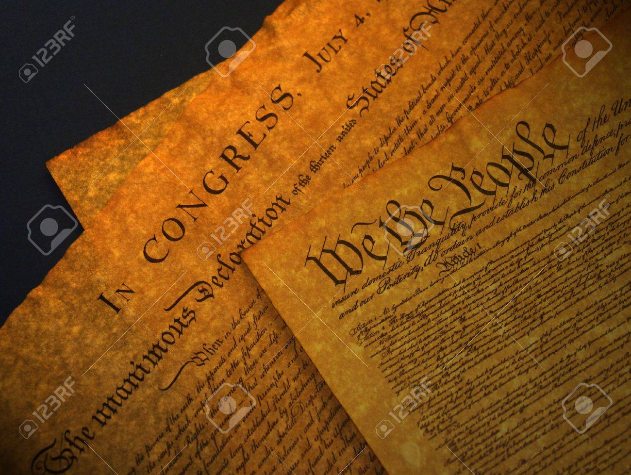A photo of old historical documents Stock Photo - 366854